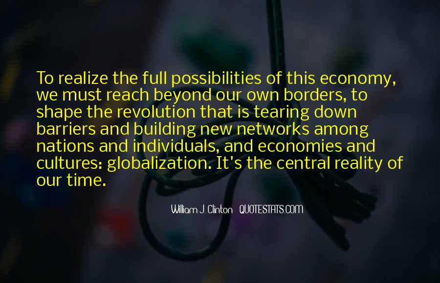 Quotes About Globalization's #371864