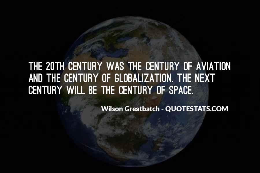 Quotes About Globalization's #43045