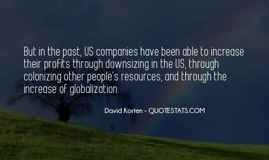 Quotes About Globalization's #593929