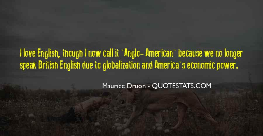 Quotes About Globalization's #636514