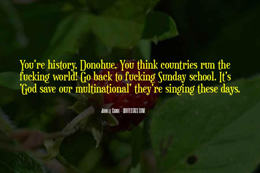 Quotes About Globalization's #783026