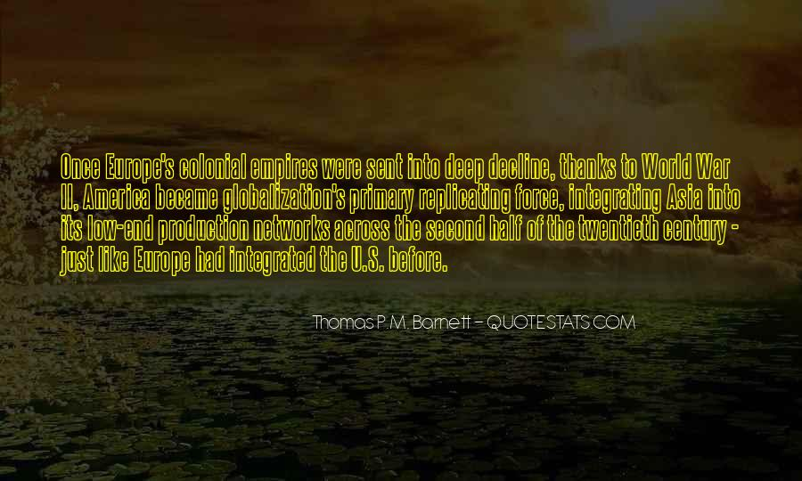 Quotes About Globalization's #784960