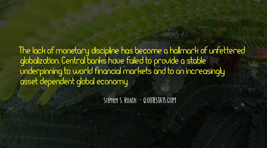 Quotes About Globalization's #868466
