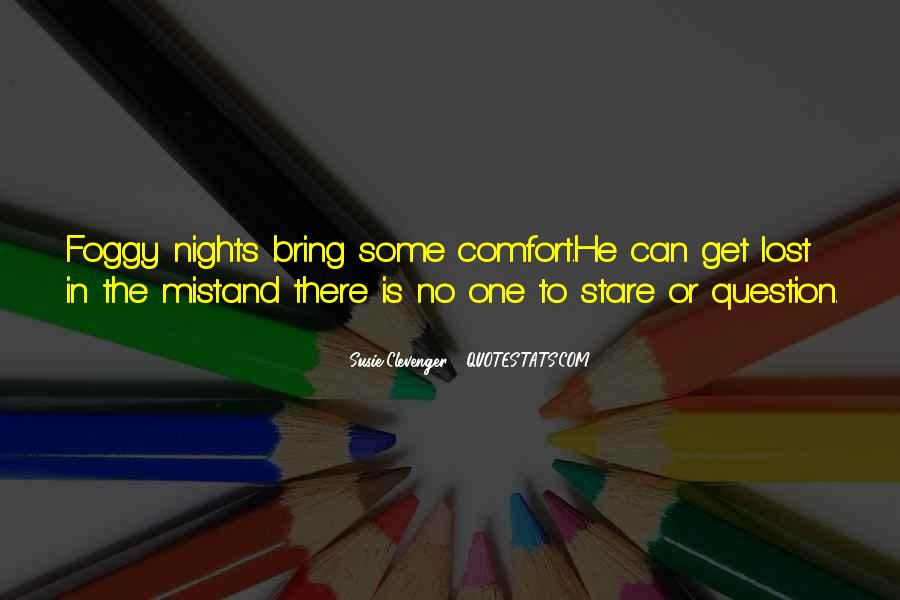 Quotes About Nights Alone #1099918