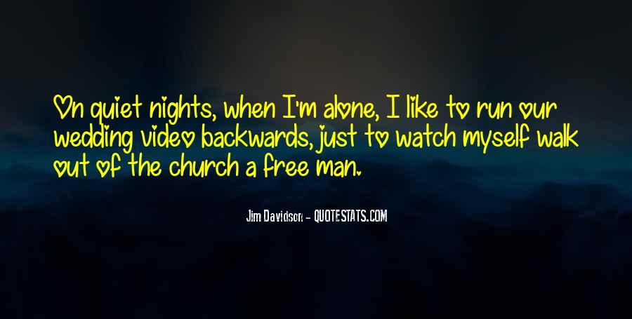 Quotes About Nights Alone #134832