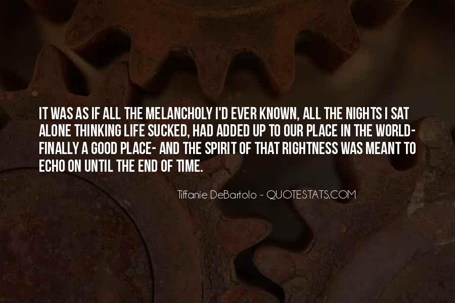 Quotes About Nights Alone #1718823