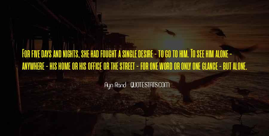Quotes About Nights Alone #1740510