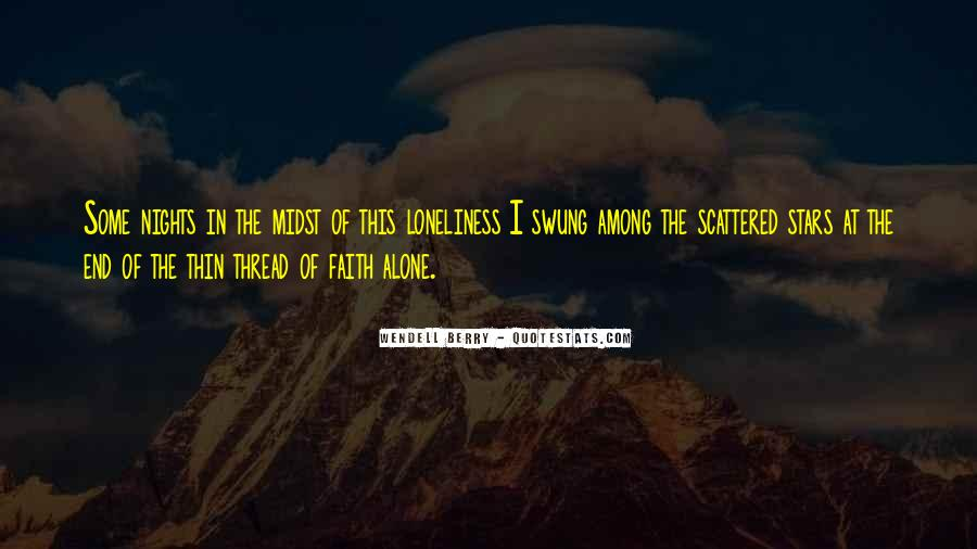 Quotes About Nights Alone #437826