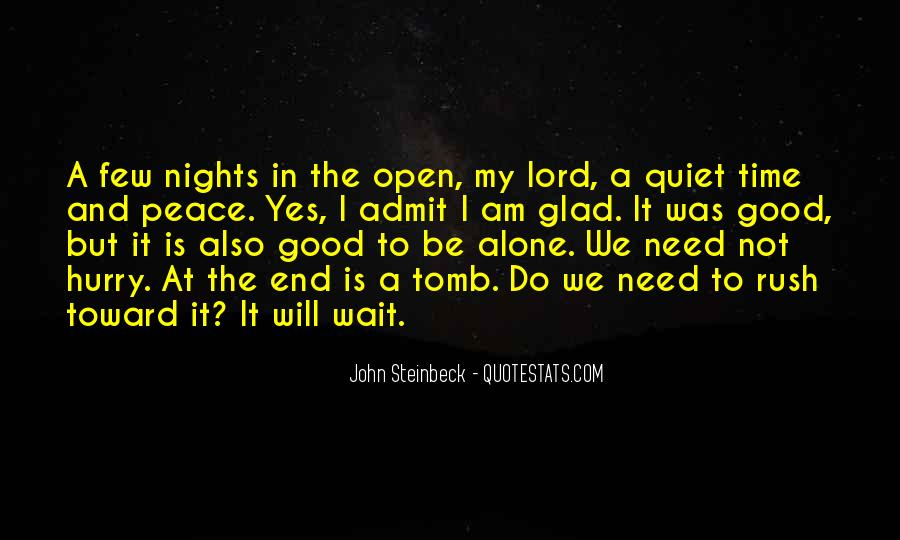 Quotes About Nights Alone #584208