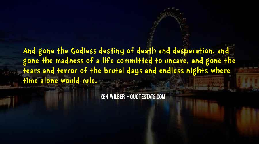 Quotes About Nights Alone #793526