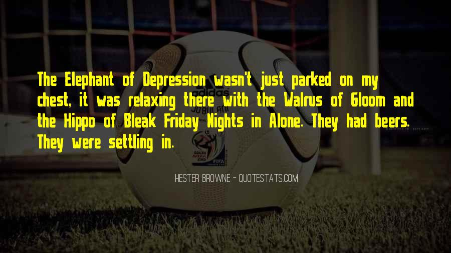 Quotes About Nights Alone #811992