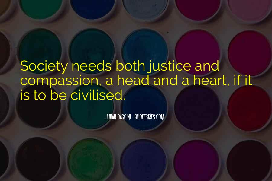 Quotes About Civilised Society #1486663