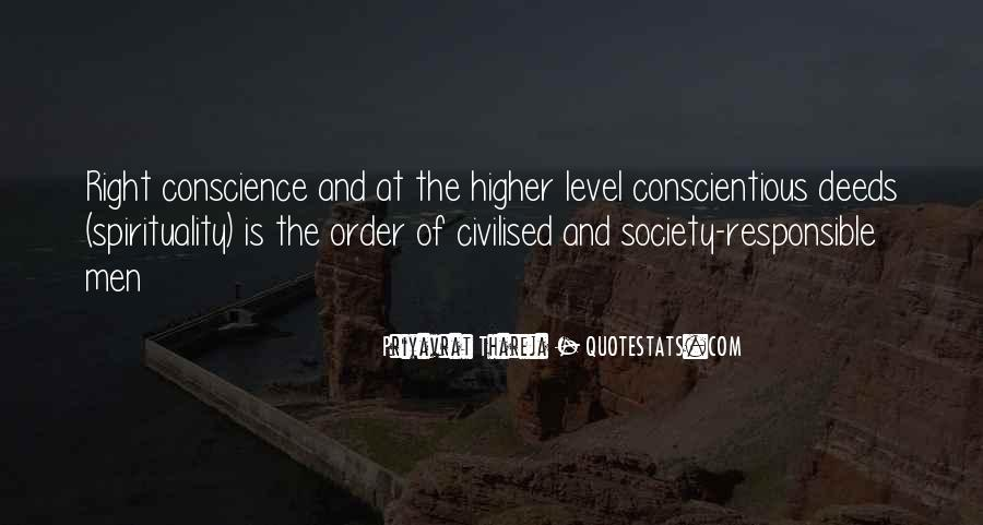 Quotes About Civilised Society #1689572