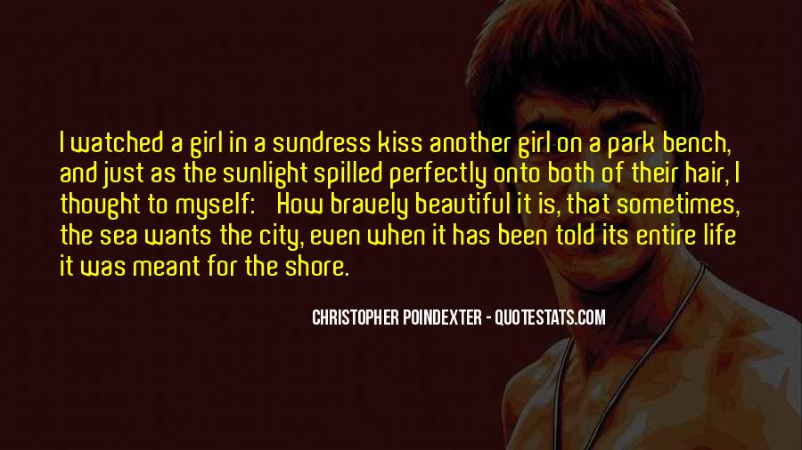 Quotes About How Beautiful A Girl Is #1301534
