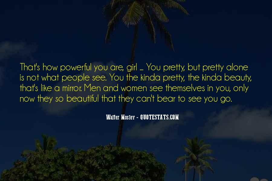 Quotes About How Beautiful A Girl Is #660660