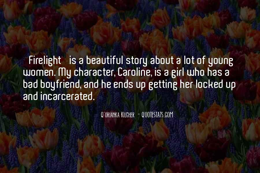 Quotes About How Beautiful A Girl Is #8097