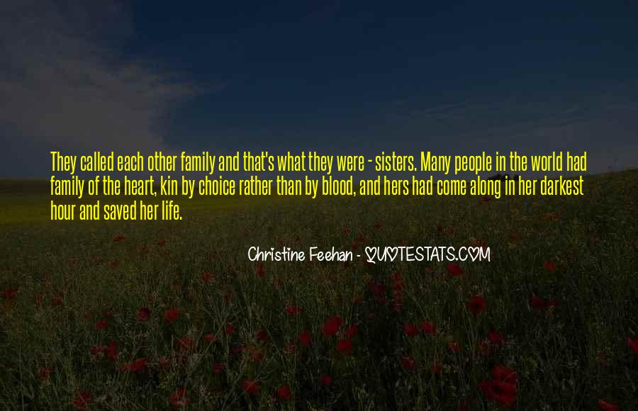 Quotes About Sisters Not Blood #650859