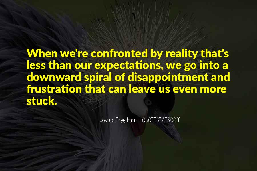 Quotes About Downward Spiral #1143460