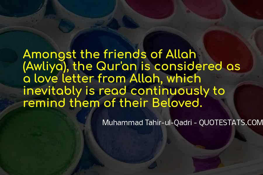 Quotes About Awliya #1068256