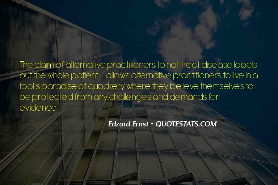 Quotes About Quackery #373244