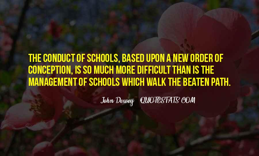 Quotes About School Based Management #489979
