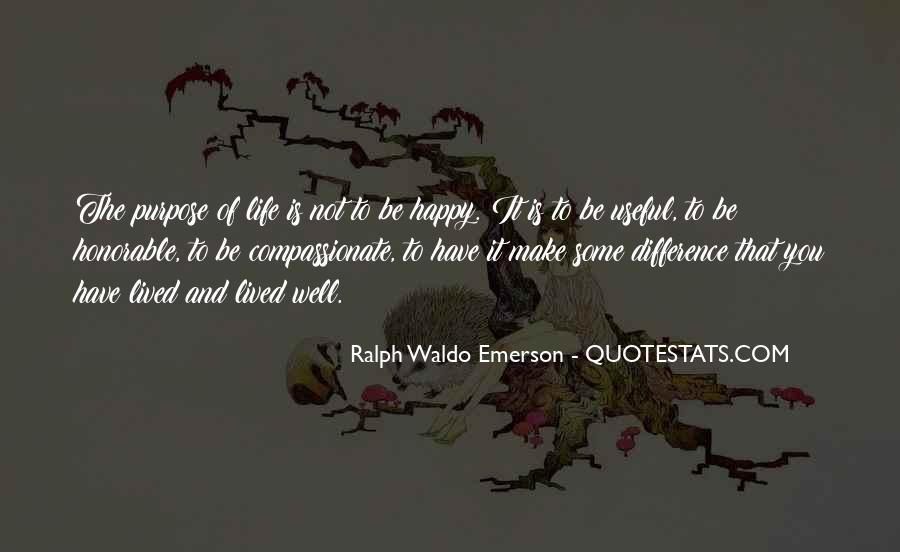 Quotes About A Life Well Lived #154277