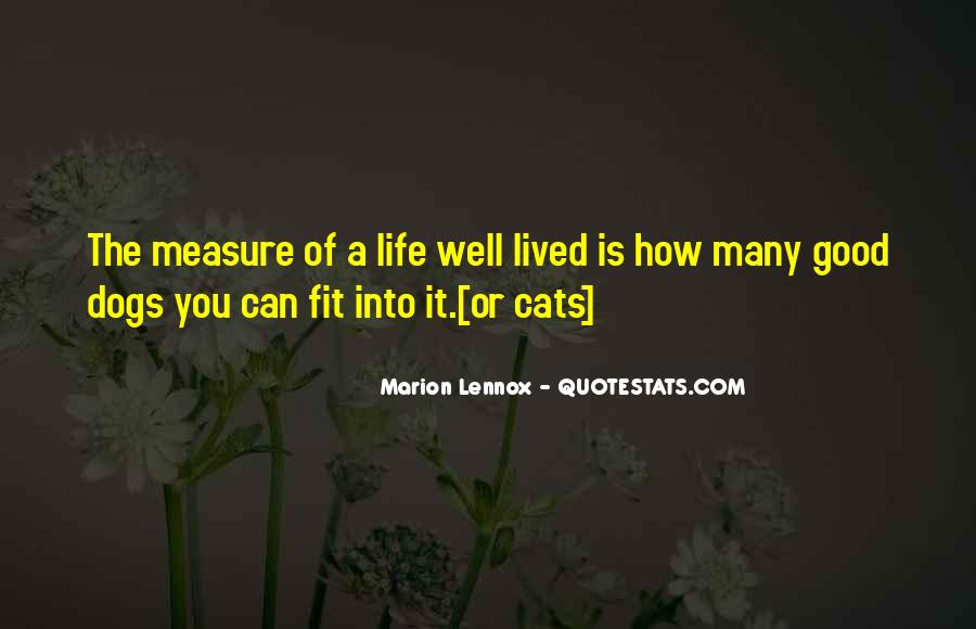 Quotes About A Life Well Lived #1721564