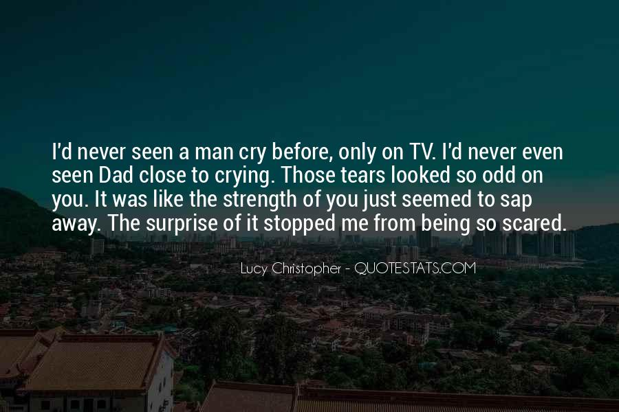 Quotes About Crying And Strength #1323016
