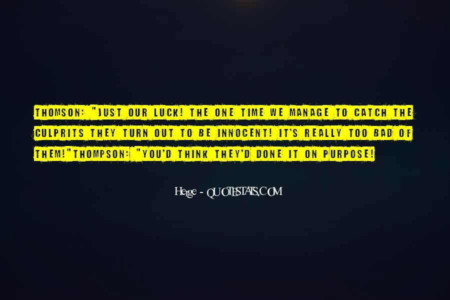 Quotes About Culprits #463547