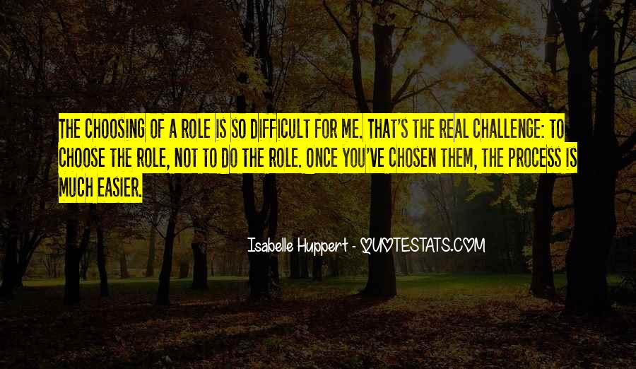Quotes About Choosing What's Best For You #34633