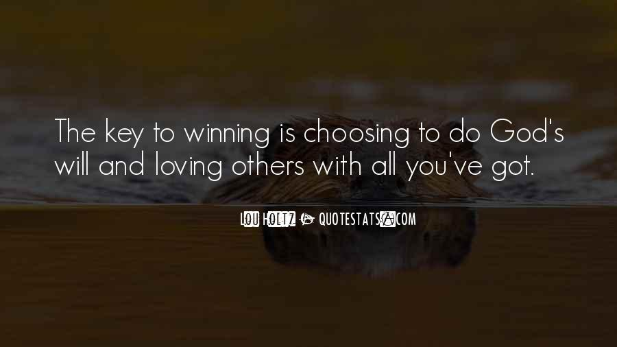 Quotes About Choosing What's Best For You #36540