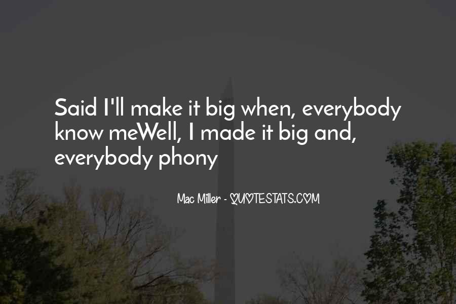 Quotes About Phony #126333