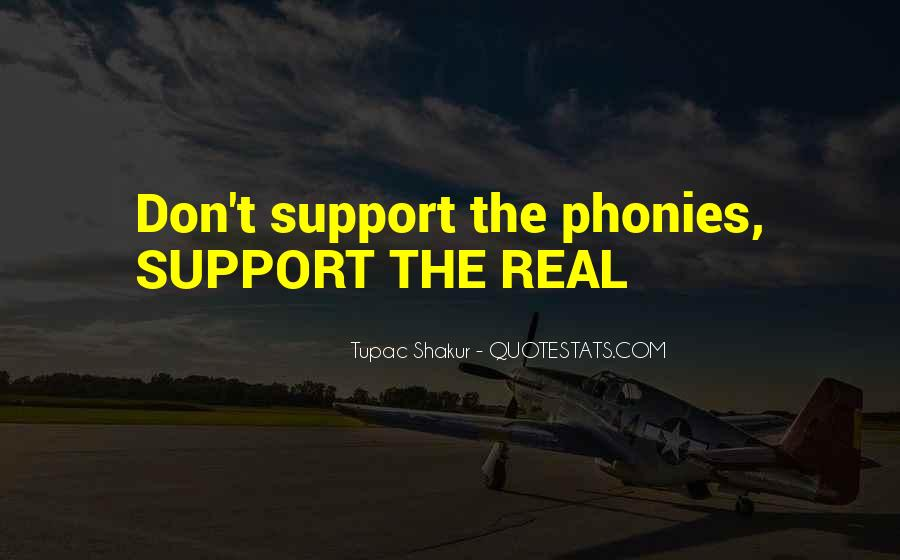Quotes About Phony #286500