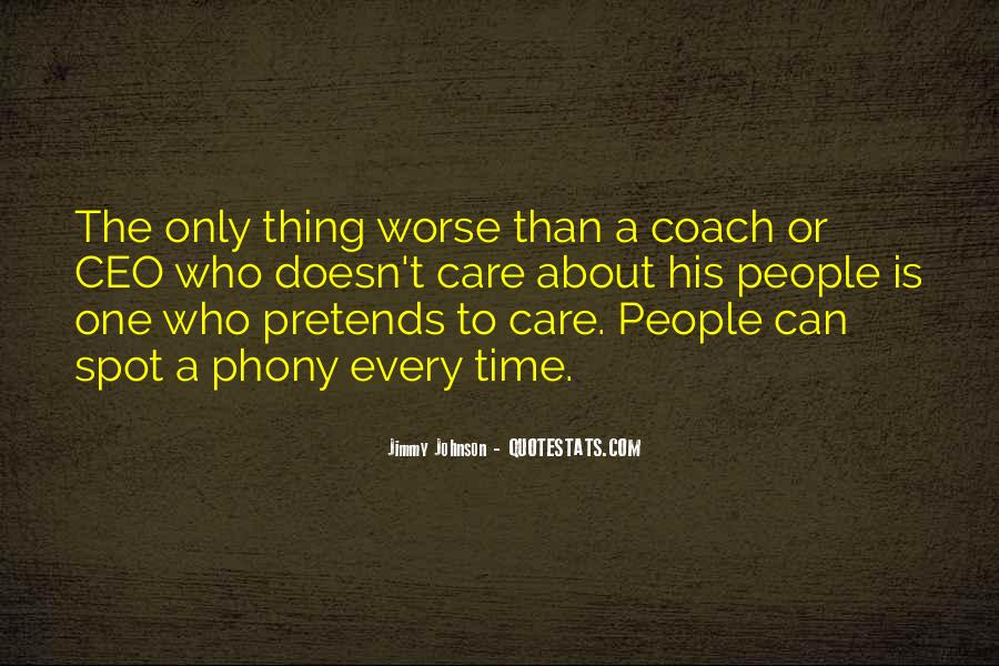 Quotes About Phony #64730