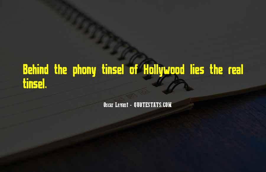 Quotes About Phony #70046