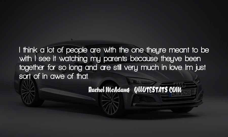 Quotes About Love To Parents #100801