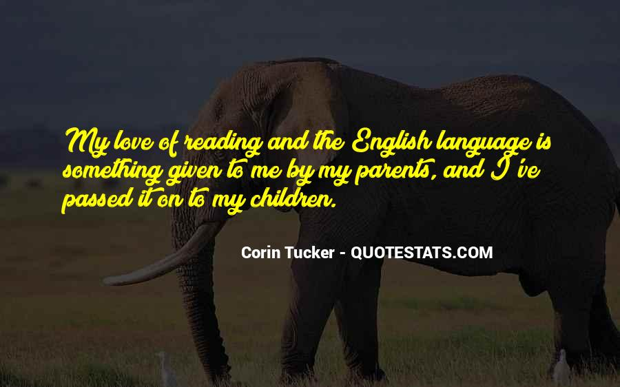 Quotes About Love To Parents #12194