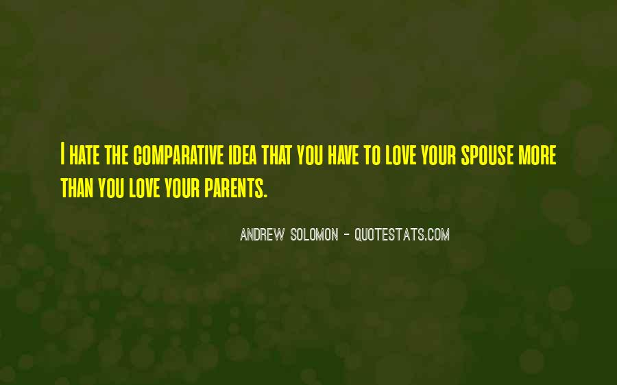 Quotes About Love To Parents #128302