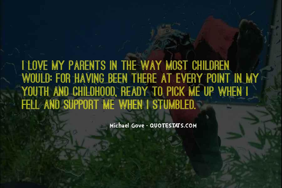 Quotes About Love To Parents #186914