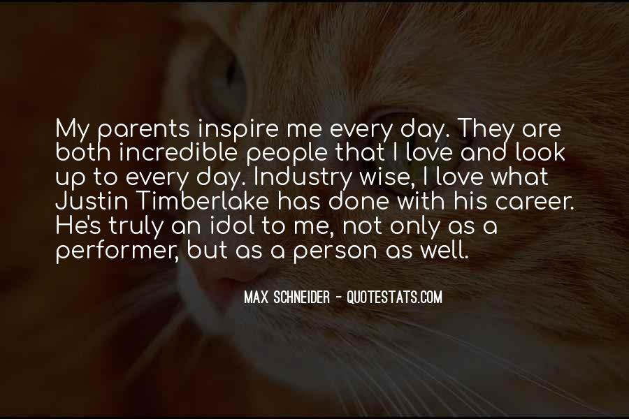 Quotes About Love To Parents #60521