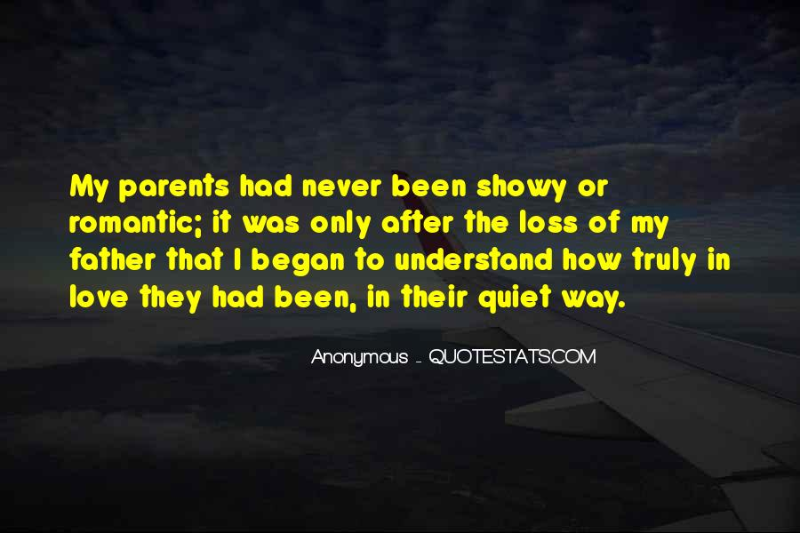 Quotes About Love To Parents #94110