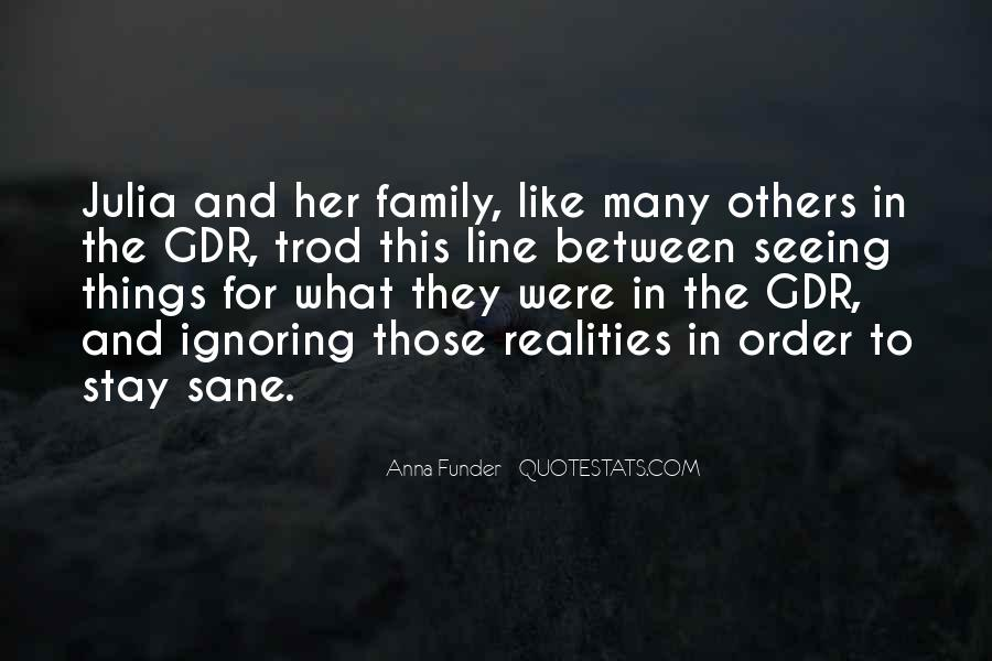 Quotes About Ignoring Family #1675355