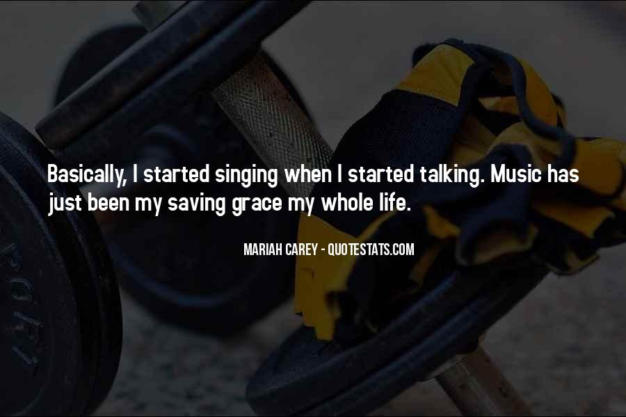 Quotes About Music Saving Your Life #1382935