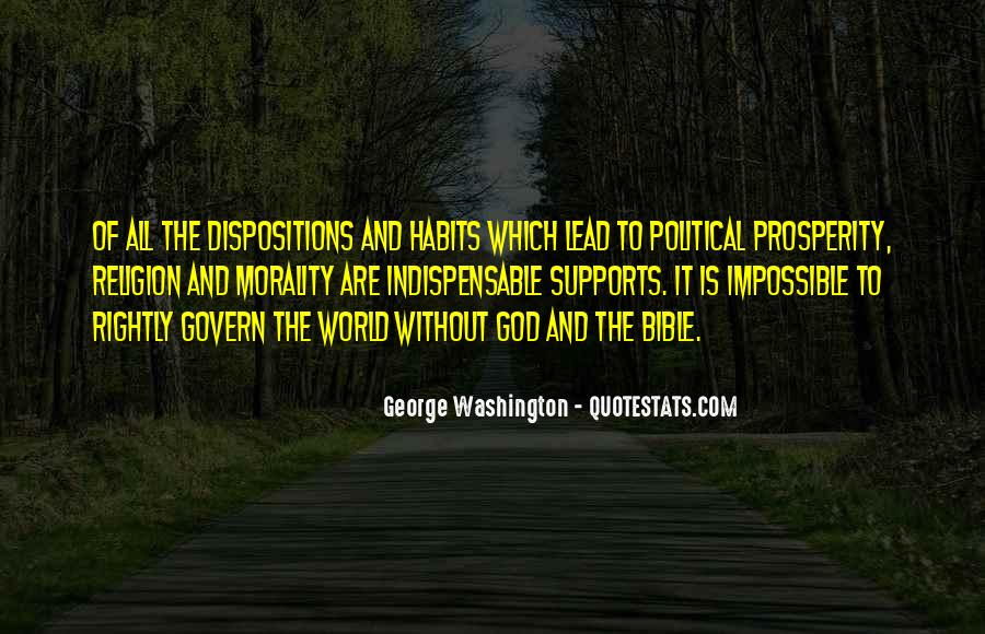 Quotes About God From George Washington #1165127
