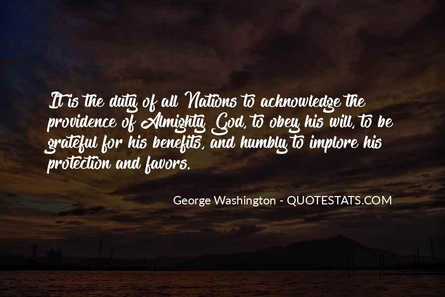 Quotes About God From George Washington #1597508