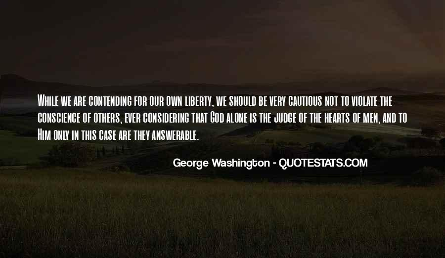 Quotes About God From George Washington #257140
