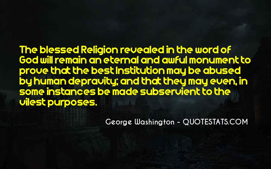 Quotes About God From George Washington #748531