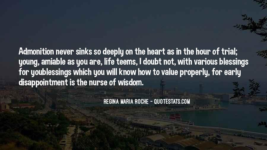 Quotes About Admonition #1730923