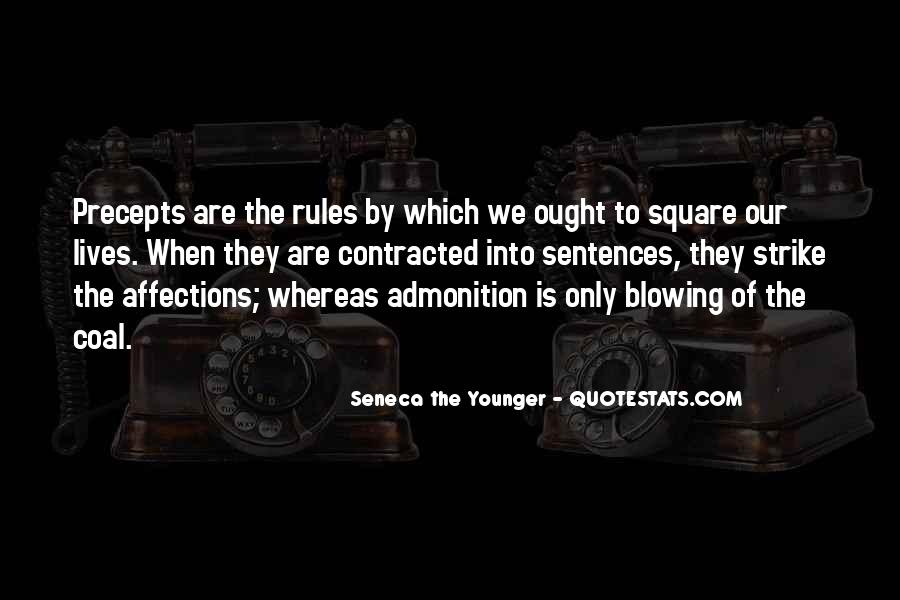 Quotes About Admonition #38557