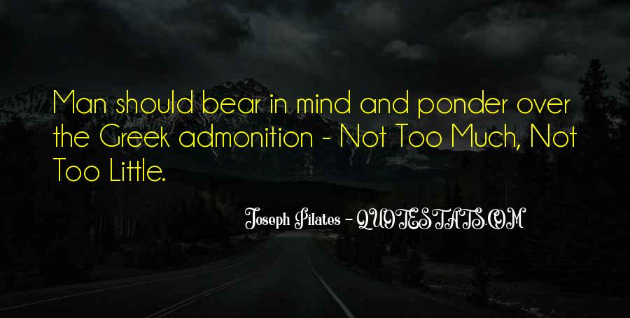 Quotes About Admonition #420632